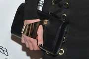 Nicky Hilton Rothschild Leather Clutch