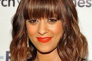 Tia Mowry Medium Wavy Cut with Bangs