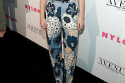 Joey King Print Pants