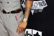 Trey Songz Lettering Tattoo