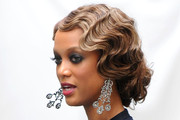 Tyra Banks Retro Updo