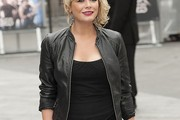 Suzanne Shaw Leather Coat