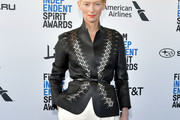 Tilda Swinton Leather Jacket