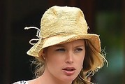 Doutzen Kroes Straw Hat