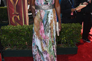 Lisa Leslie Print Dress