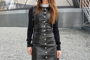 Joana Preiss Leather Dress