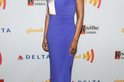Kim Wayans One Shoulder Dress