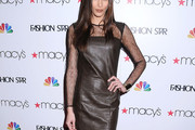 Dayana Mendoza Leather Dress