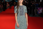 Raffey Cassidy Mini Dress