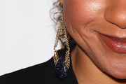 Tracie Thoms Gold Dangle Earrings
