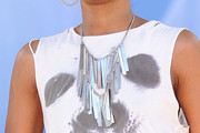 Dawn Richard Silver Statement Necklace