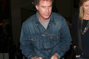 Will Ferrell Denim Jacket