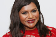 Mindy Kaling Long Wavy Cut