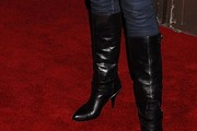 Bianca Kajlich Knee High Boots