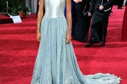 Esperanza Spalding Strapless Dress