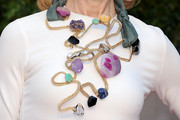 Lynn Wyatt Gemstone Statement Necklace