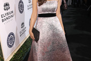 Hannah Simone Strapless Dress