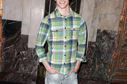 Lucas Till Button Down Shirt