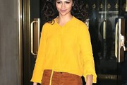 Camila Alves Loose Top