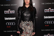 Jennifer Connelly Leather Dress