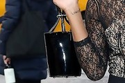 Keke Palmer Patent Leather Purse