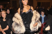 June Ambrose Fur Coat