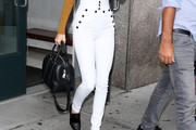 Kendall Jenner High-Waisted Pants