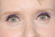 Cynthia Nixon Bright Eyeshadow