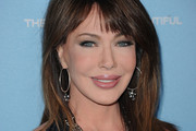 Hunter Tylo Long Straight Cut with Bangs