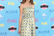 Joey King Print Dress