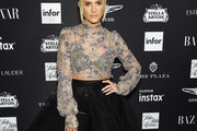 Ashlee Simpson Sheer Top