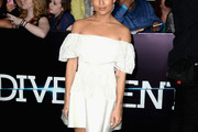 Zoe Kravitz Off-the-Shoulder Dress