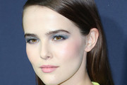 Zoey Deutch Long Side Part