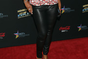 Laila Ali Leather Pants
