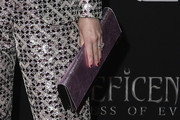 Lydia Hearst Metallic Clutch
