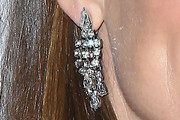 Jennifer Garner Diamond Chandelier Earrings