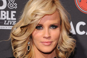 Jenny McCarthy Medium Wavy Cut with Bangs
