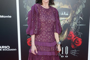 Perrey Reeves Embroidered Dress