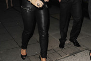 Brooke Vincent Leather Pants