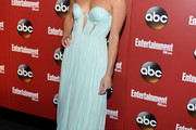 Maggie Lawson Strapless Dress