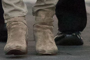 Cobie Smulders Ankle Boots