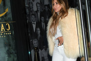 Larsa Pippen Fur Coat