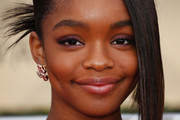 Marsai Martin Twisted Bun