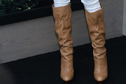 Tara Reid Knee High Boots