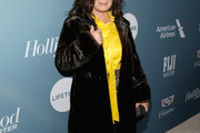 Marcia Gay Harden Fur Coat