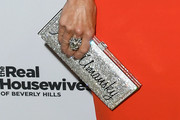 Kyle Richards Metallic Clutch