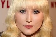 Hayley Hasselhoff Medium Wavy Cut with Bangs