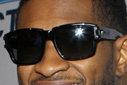 Usher Rectangular Sunglasses