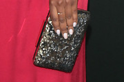 Aja Naomi King Sequined Clutch