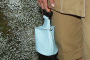 Ashley Madekwe Leather Purse